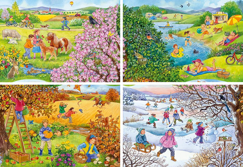 Puzzle 4 Seasons Tommi